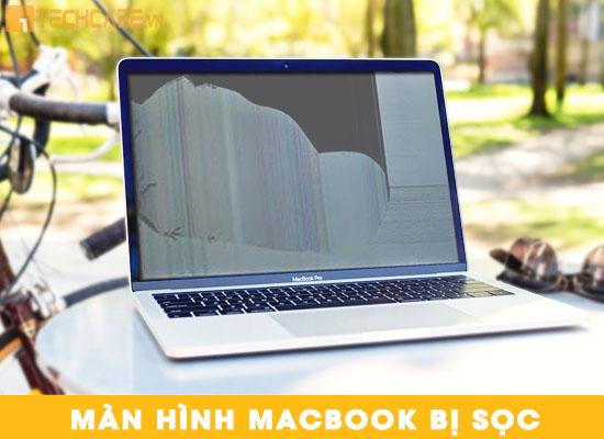 Lỗi màn hình Macbook bị sọc
