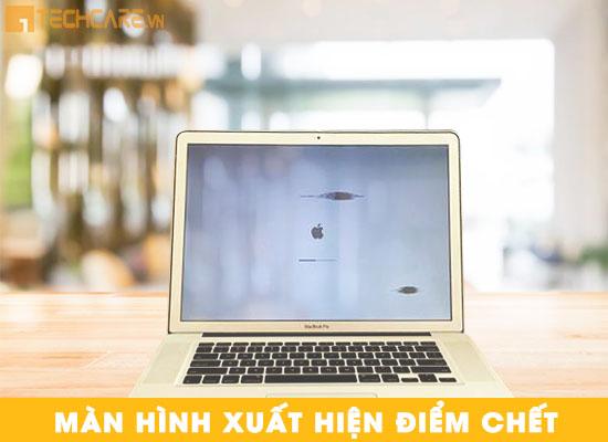 Lỗi màn hình Macbook xuất hiện điểm chết