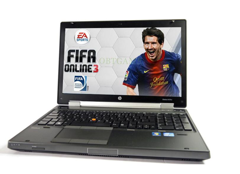 laptop chơ game fifa online 3 không lag