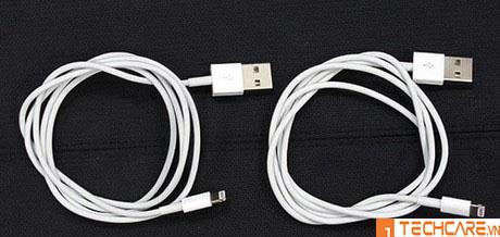 Bộ dây cáp sạc, củ sạc iPhone 7 chính hãng