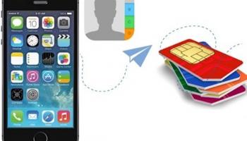 Hướng dẫn copy danh bạ từ iphone sang sim không Jailbreak nhanh nhất