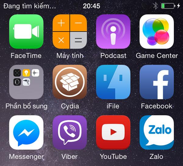 Sửa lỗi iPhone không nhận sim đang tìm kiếm