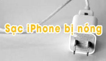 Khi cục sạc iPhone bị nóng thì làm sao?