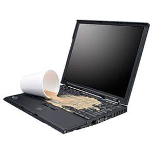 Laptop bị vảo nước