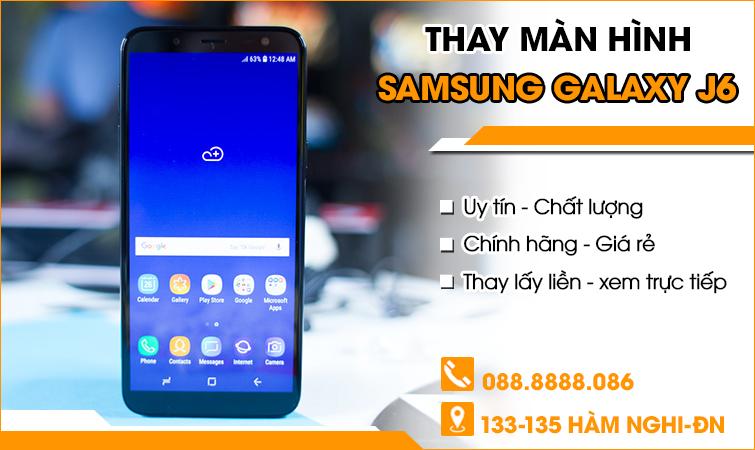 Thay màn hình Samsung Galaxy J6 tại Đà Nẵng