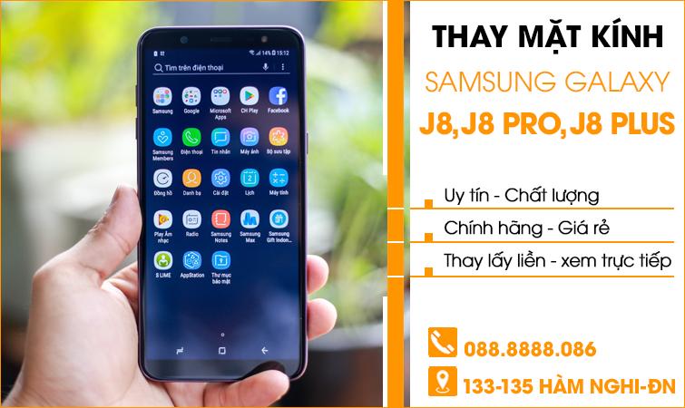 làm mới mặt kính Samsung Galaxy J8 tại Đà Nẵng