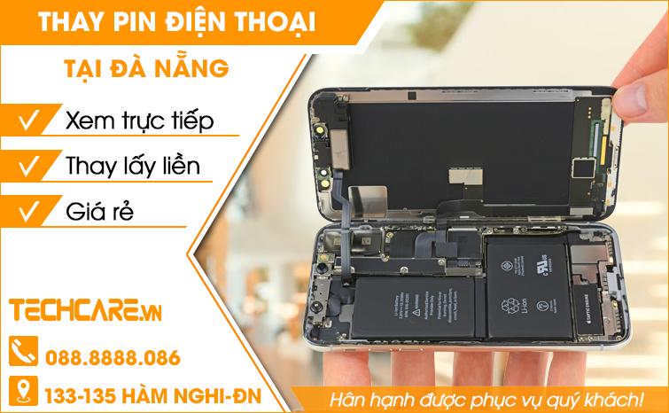 Thay pin điện thoại giá rẻ tại Đà Nẵng