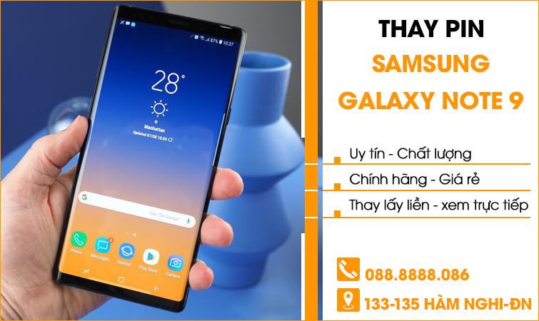 Thay pin Samsung Galaxy giá rẻ tại Đà Nẵng