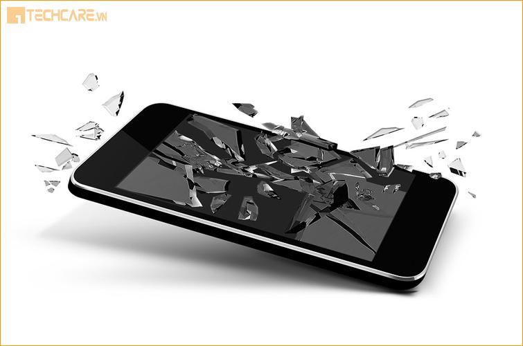 Làm gì khi điện thoại bị vỡ màn hình