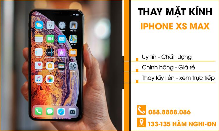 Thay mặt kính Iphone XS Max tại Đà Nẵng