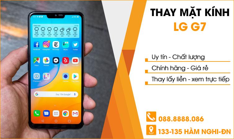 Thay mặt kính LG G7 tại Đà Nẵng