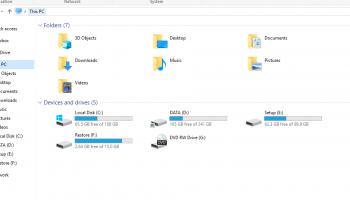 Cách kiểm tra bộ nhớ dung lượng ổ cứng máy tính và Laptop