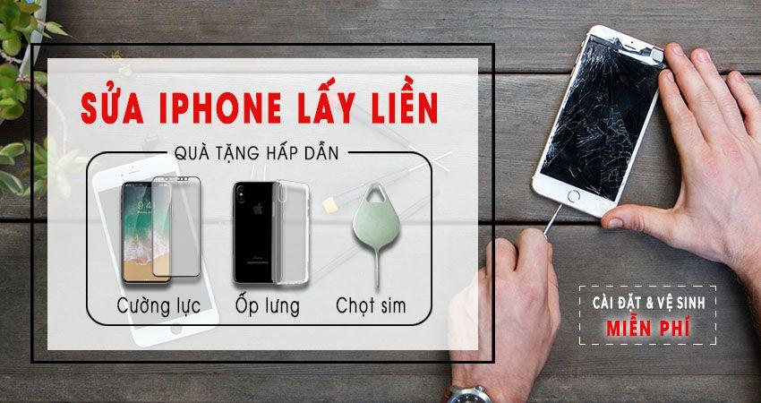 Thay màn hình iphone chính hãng tại Đà Nẵng