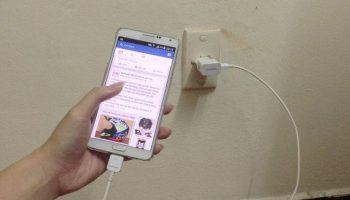Hướng Dẫn Cách sạc pin điện thoại mới samsung đúng cách