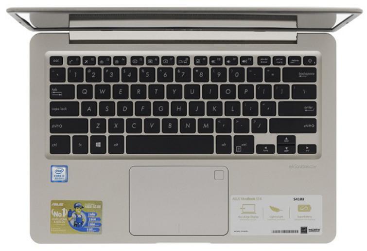 Touchpad được thiết kế với diện tích vừa phải