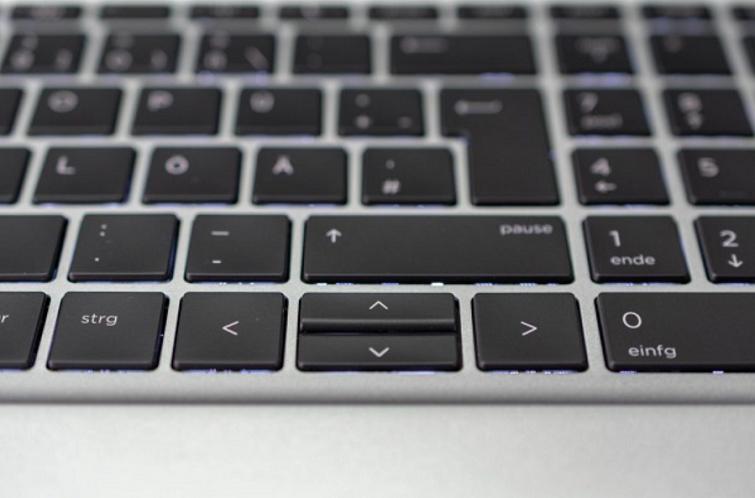 Bàn phím tạo được cảm giác thoải mái khi sử dụng