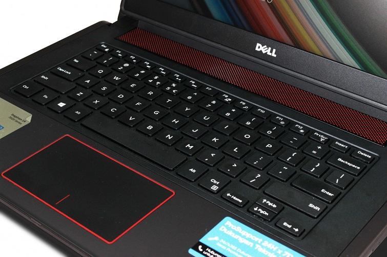 Dell Inspiron 7447 được trang bị bàn phím chiclet