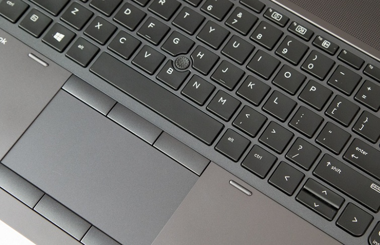 Touchpad với độ lớn vừa đủ