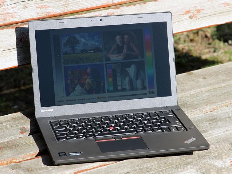Màn hình Thinkpad T450 công nghệ chống chói