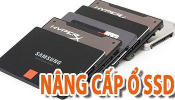 Thay nâng cấp ổ cứng ssd cho laptop