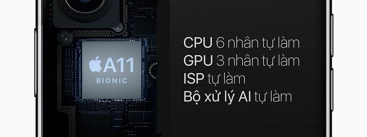 Con chip A11 Bionic