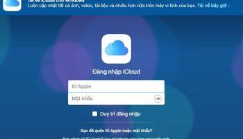 Cách tạo tài khoản id Apple icloud app store miễn phí trên máy tính