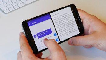 Cách sử dụng chia đôi màn hình android 9