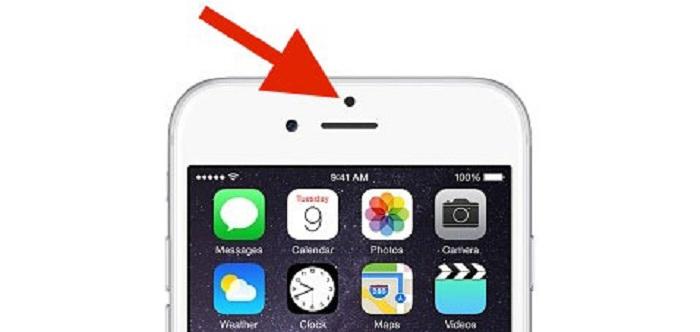 Tự tắt cảm biến ánh sáng iphone màn hình khi che cảm biến