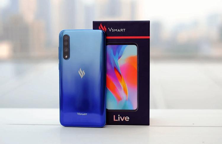 Thay pin điện thoại Vsmart Live