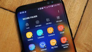Cách đặt mật khẩu cho ứng dụng trên Samsung