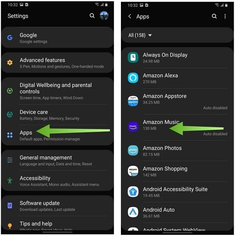 Cách giải phóng dung lượng Samsung Galaxy cho mỗi ứng dụng