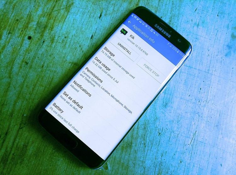 Chọn ứng dụng đang chạy nền để chặn ứng dụng chạy ngầm Android