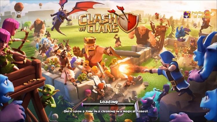 Các tính năng của Clash of Clans