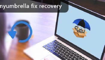 Sửa chữa phục hồi TinyUmbrella khôi phục iPhone