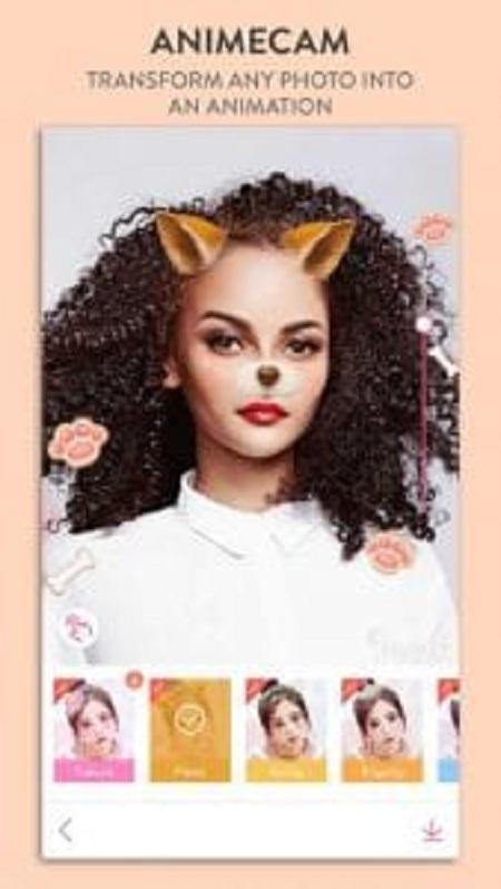 BeautyPlus app xoá mụn