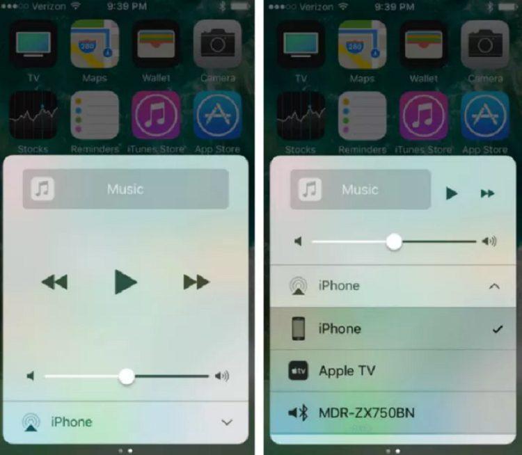 Giải pháp 5: Kiểm tra xem âm thanh có được phát qua AirPlay và Bluetooth hay không