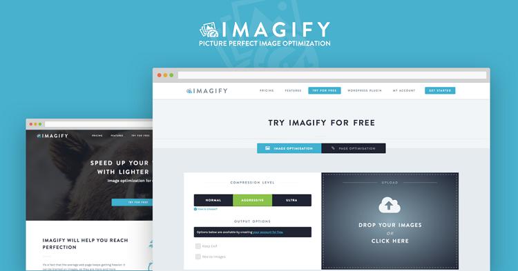 Imagify –giảm dung lượng ảnh online