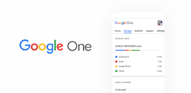 3. Bộ nhớ lưu trữ đám mây dung lượng lớn 100GB hoặc 200GB: Google One