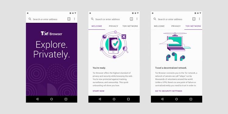 Tại sao sử dụng trình duyệt Android Tor?