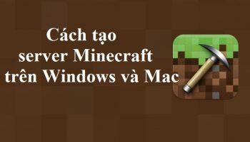 Tạo server Minecraft