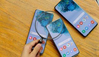 5 cách test màn hình Samsung chính hãng
