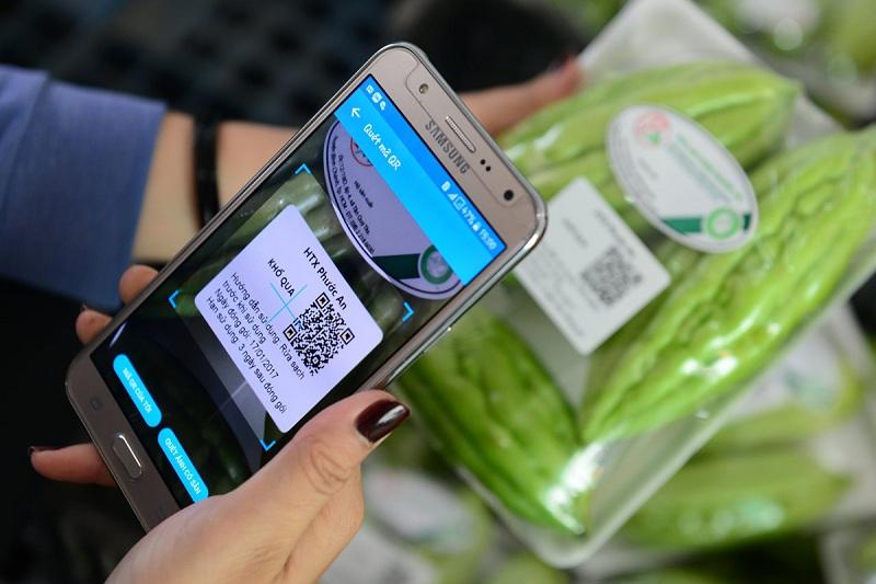 Máy quét mã vạch không dâyứng dụng quét mã vạch sản phẩm cho android