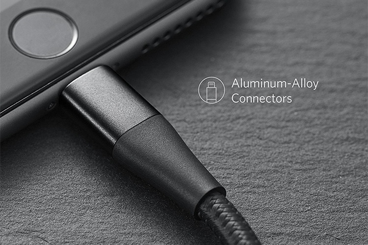 Cáp Lightning Anker PowerLine+ II - Dài 0.3m - A8451