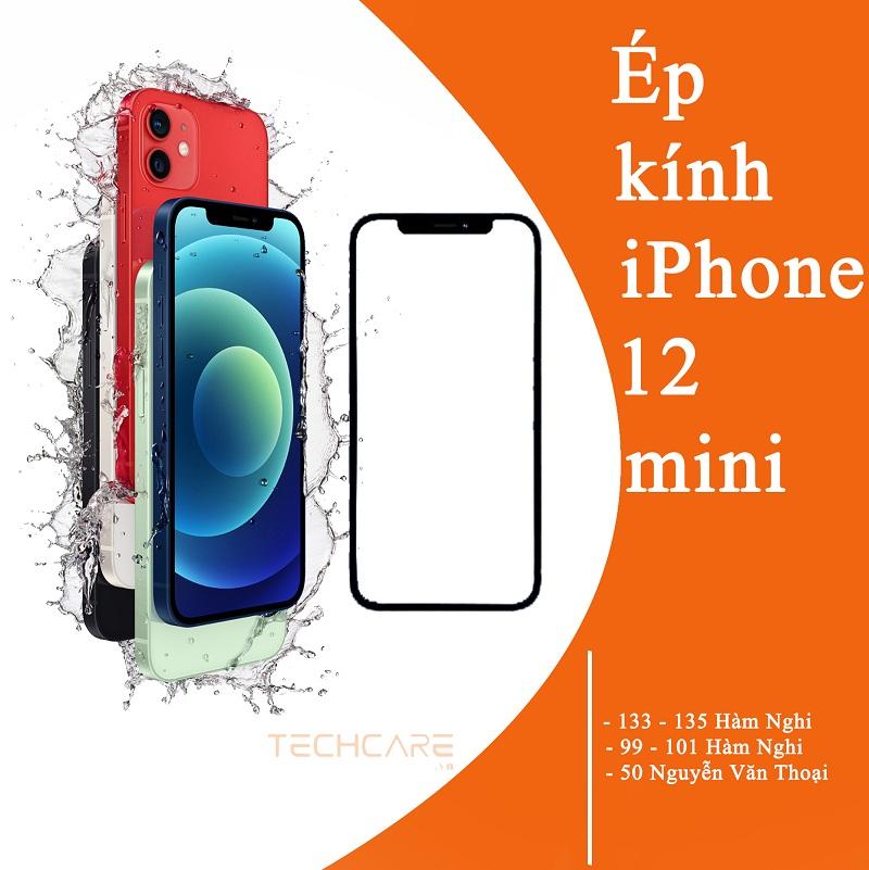 ép kính iphone 12 mini