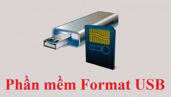 Phần mềm Format USB cực mạnh không nên bỏ qua