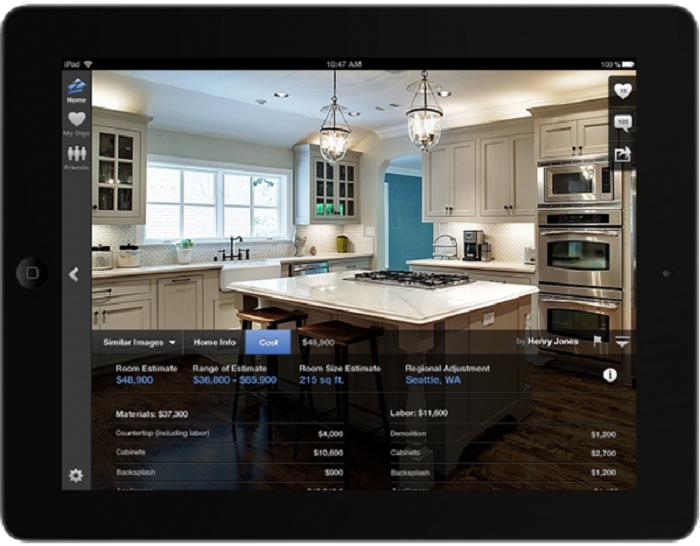 App thiết kế nhà trên điện thoại Android và iOs