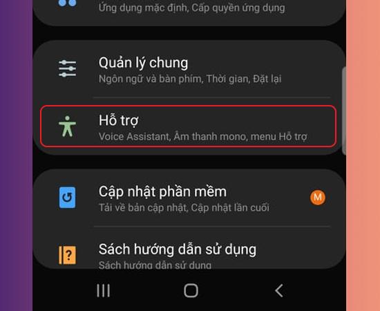 Cách chỉnh màu màn hình điện thoại samsung