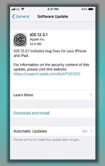 Lỗi không vào được youtube trên điện thoại iPhone hoặc iPad