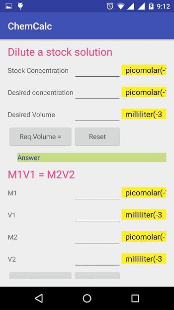 8. Máy tính Hóa học - app giải bài tập hóa
