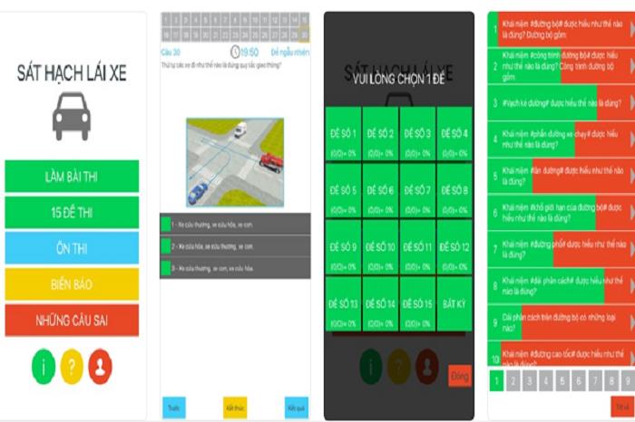 Top phần mềm học lái xe ô tô trên điện thoại